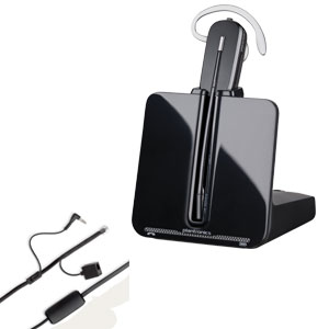 Plantronics CS540A + EHS-Adapter APA-23 (Alcatel)