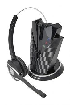freeVoice FOX FX810B wireless DECT Headset