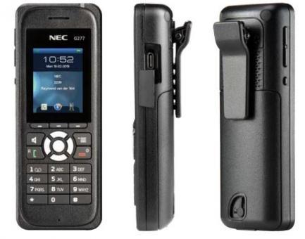 NEC G277 Handset, Farbe: schwarz