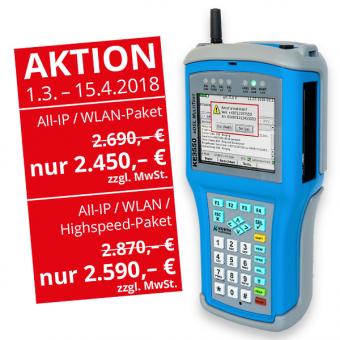 KE3550 xDSL MultiTest All-IP / WLAN-Paket
