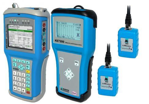 KE3550 xDSL MultiTest und KE7200 Netzwerktester Paket