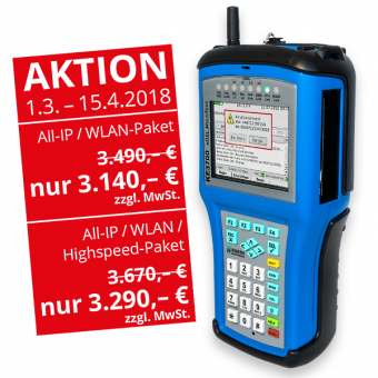 KE3700 xDSL MultiTest All-IP / WLAN-Aktions-Paket