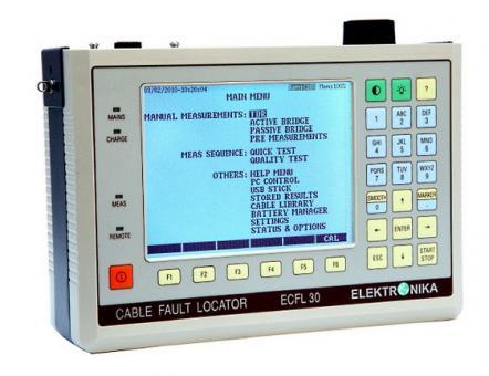 Kabelfehlerortungsgerät ECFL 30