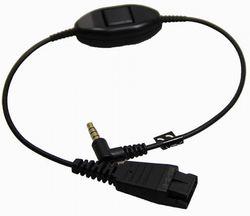 Headset QD Cable für NEC Gx66/I766 und Jabra / GN