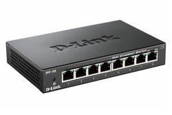 D-Link DES-108 8-Port Layer2 Fast Ethernet Switch