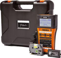 Brother P-touch E550WVP Handheld WLAN Beschrifter mit Koffer