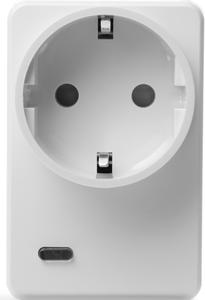 LUPUSEC Funksteckdose mit Stromzähler und Repeat.