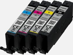 Canon Tintenpatrone CLI-581XXL Multipack (C/M/Y/BK)