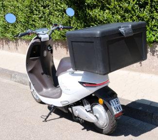 """E-Motorroller """"faber e-drive C"""" inkl. 100l Transportbox"""