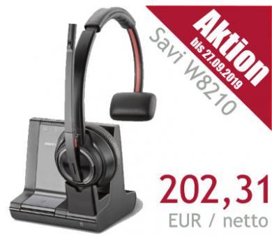 Poly® DECT Headset Savi W8210 USB monaural